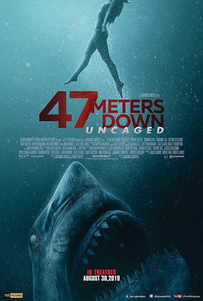 Filmi 47 Meters Down: Uncaged poster