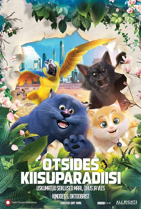 Filmi Cats and Peachtopia poster