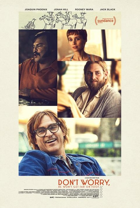 Filmi Don%27t Worry, He Won%27t Get Far on Foot poster