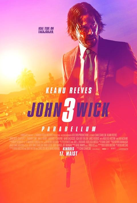 Filmi John Wick: Chapter 3 poster