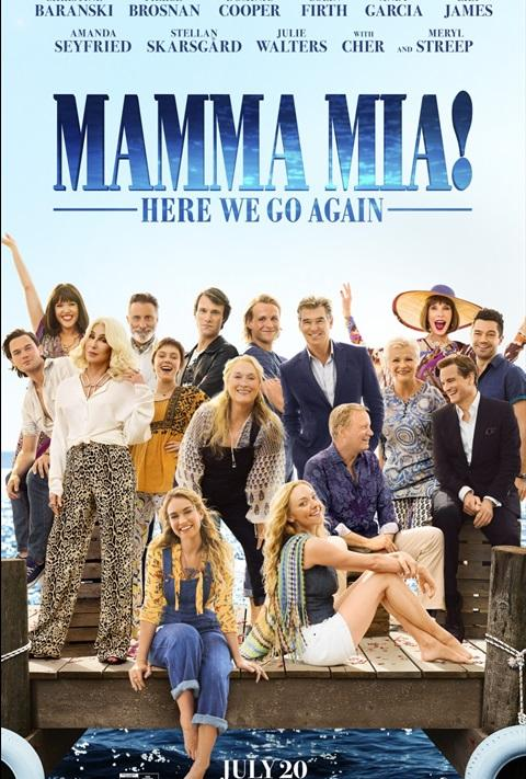 Filmi Mamma Mia! Here We Go Again poster