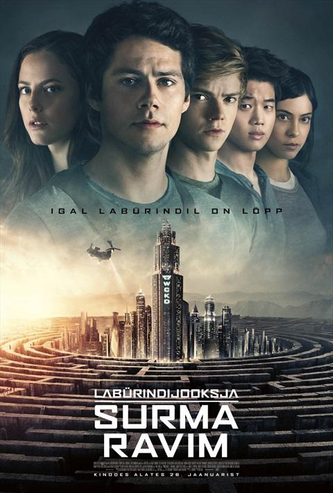 Filmi Maze Runner: The Death Cure poster