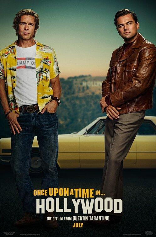 Filmi Once Upon a Time in Hollywood poster