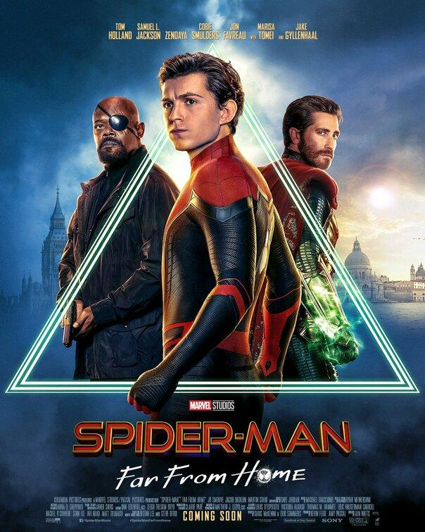 Filmi Spider-Man: Far From Home poster