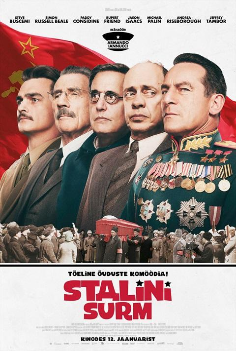 Filmi The Death of Stalin poster