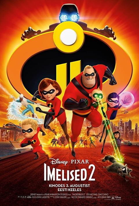 Filmi The Incredibles 2 poster