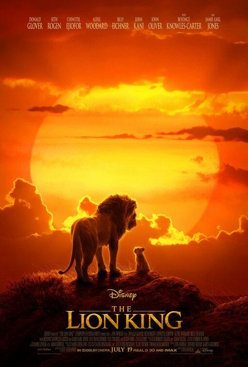 Filmi The Lion King poster
