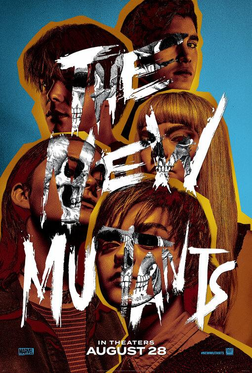 Filmi The New Mutants poster