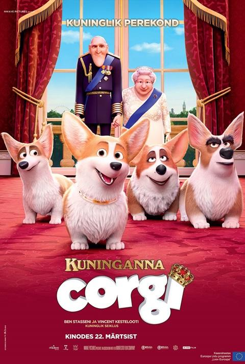 Filmi The Queen%27s Corgi poster