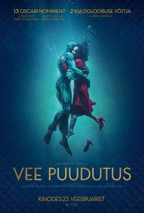 Filmi The Shape of Water poster