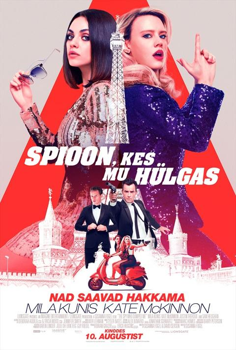 Filmi The Spy Who Dumped Me poster