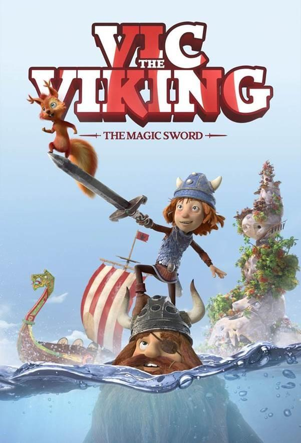 Filmi Vic the Viking and the Magic Sword poster