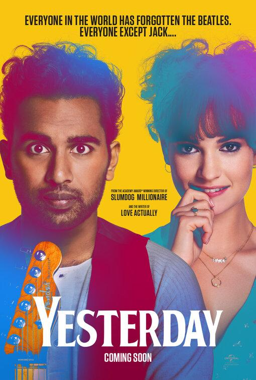 Filmi Yesterday poster